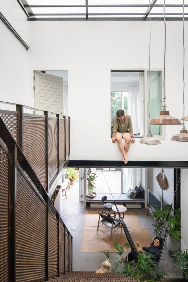 thiết kế nhà tối giản trong mùa hè - v8