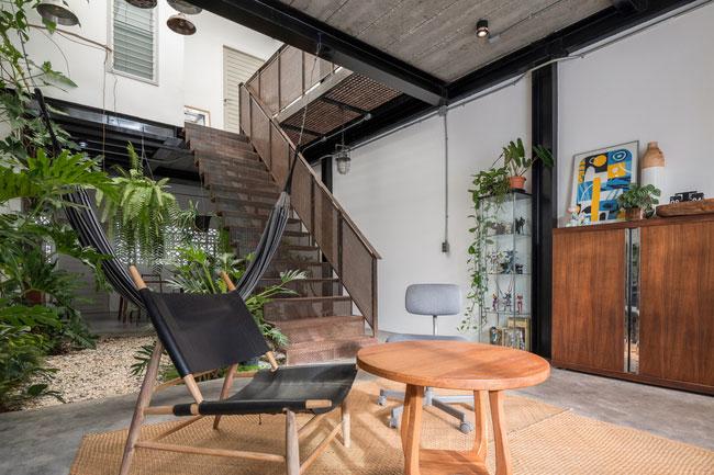 thiết kế nhà tối giản trong mùa hè - v9