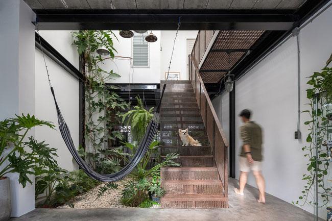 thiết kế nhà tối giản trong mùa hè - v10
