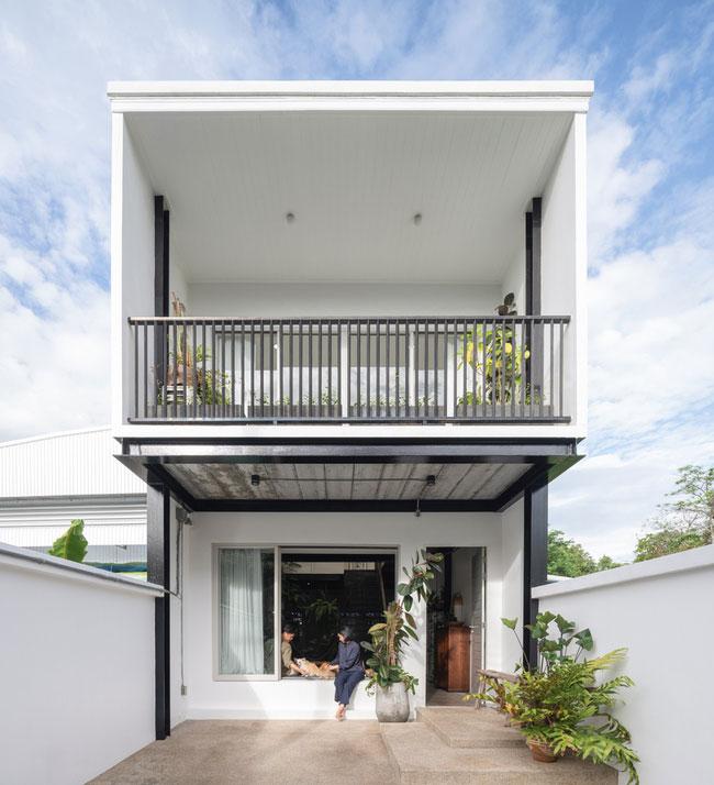 thiết kế nhà tối giản cho mùa hè - v1