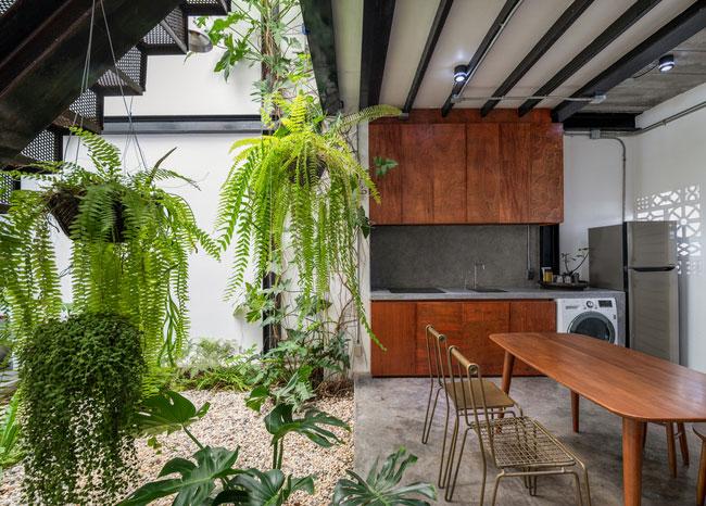 thiết kế nhà tối giản trong mùa hè - v2