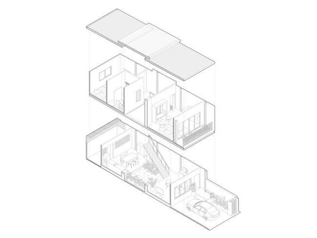 thiết kế nhà tối giản trong mùa hè - v3