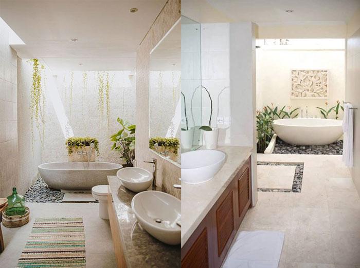 Mẫu phòng tắm ngoài trời cho thiết kế resort v3