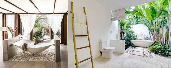 Mẫu phòng tắm ngoài trời cho thiết kế resort v4