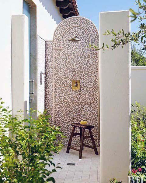 Mẫu phòng tắm ngoài trời cho thiết kế resort v5
